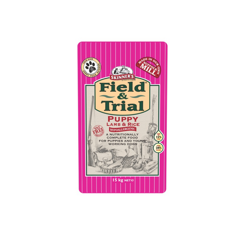 Skinners Fild & Trial Lamb & Rice Puppy 15kg