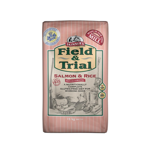 Field & Trial Salmon & Rice 15kg