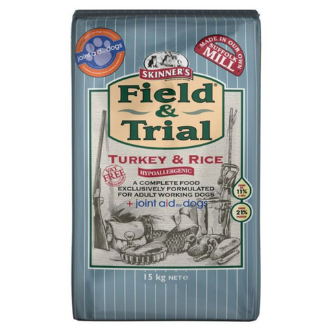 Skinners Field & Trial Turkey & Rice (with joint aid) 15kg