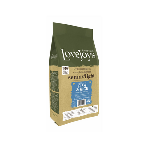 Lovejoys Senior/Light Fish & Rice 12kg