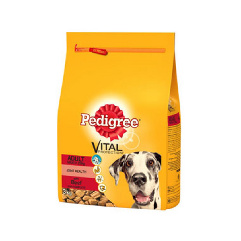 Pedigree Complete Adult Beef Rice 13kg