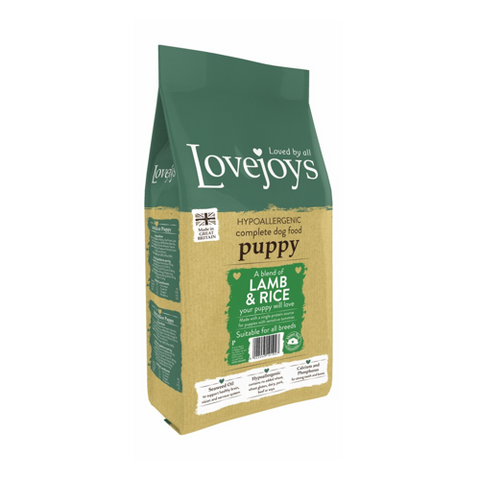 Lovejoys Puppy Lamb & Rice 15kg
