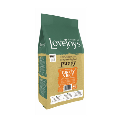 Lovejoys Puppy Turkey & Rice 15kg
