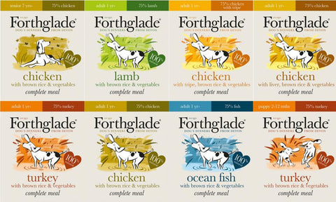 Forthglade Natural meals (18x 395g mixed selection)