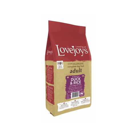 Lovejoys Adult Duck & Rice 12kg