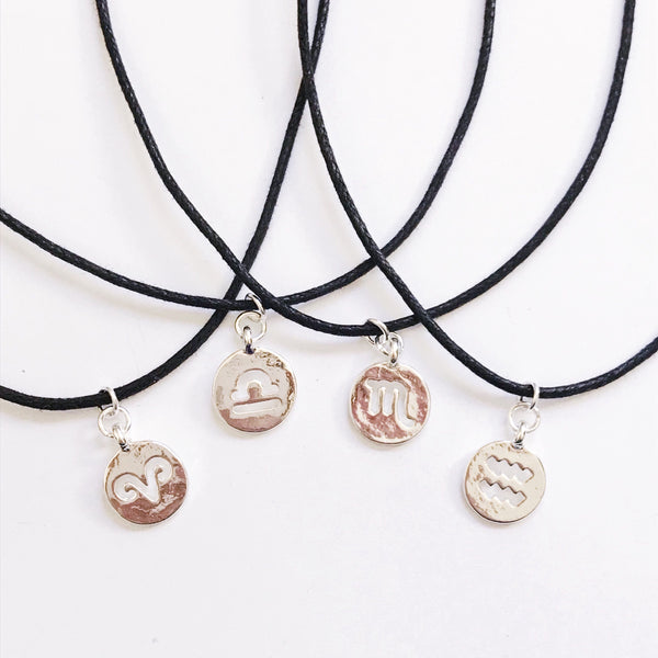 Hollow Zodiac Sign Choker