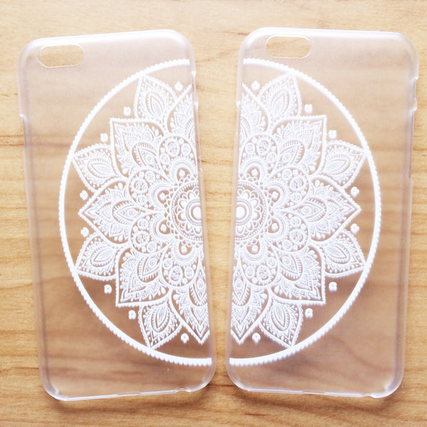 Half Mandala Phone Case