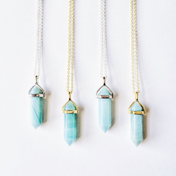 Oceanic Amazonite Quartz