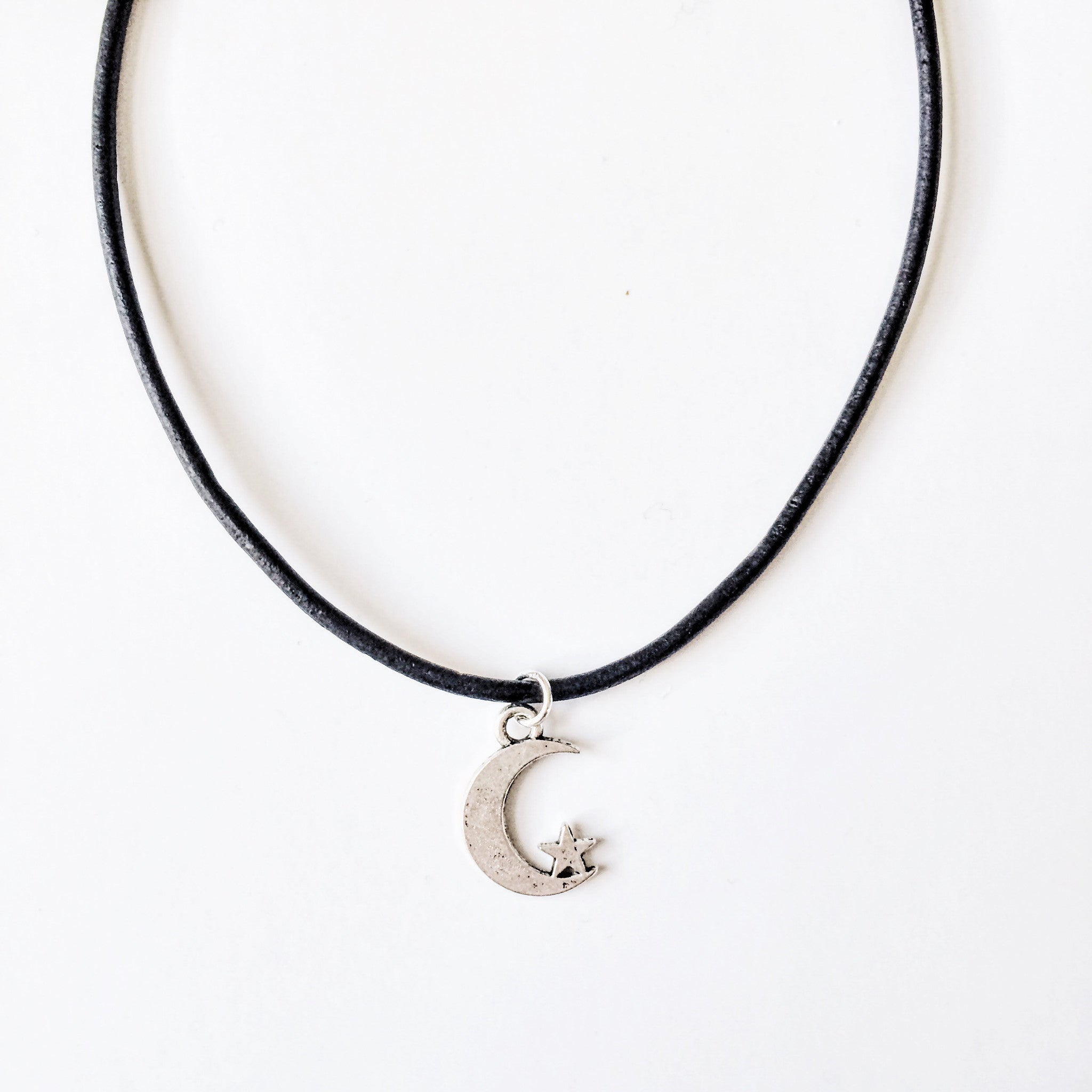 Moon & Star Choker