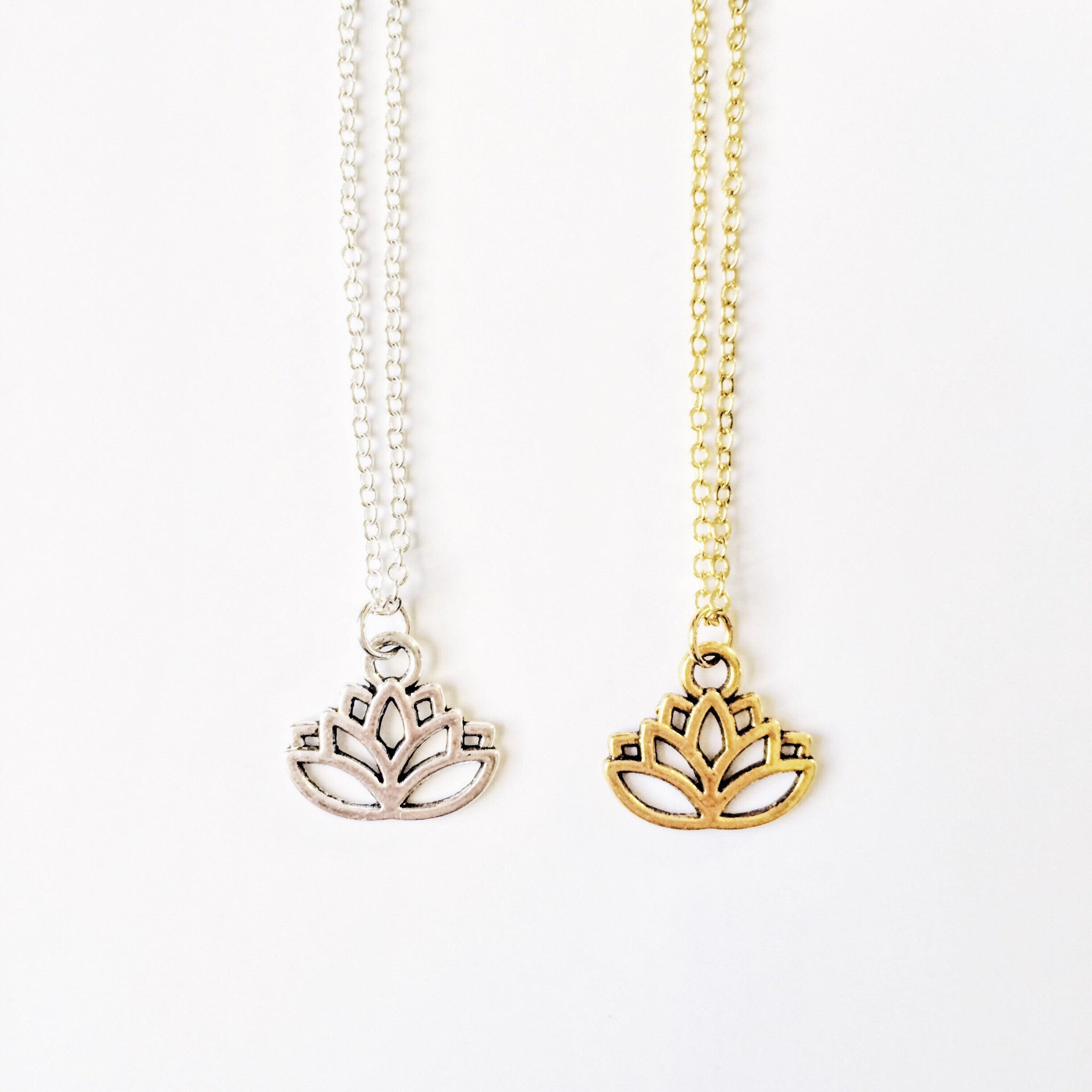 world lotus product of make necklace wish flower minimalistic a
