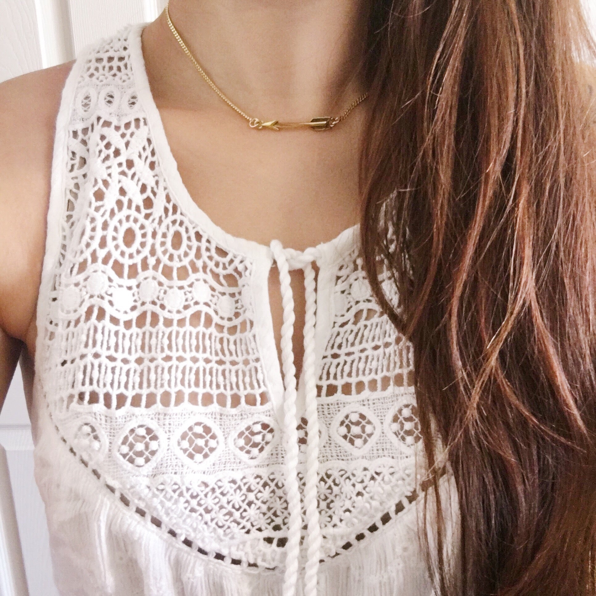 Arrow Chain Choker
