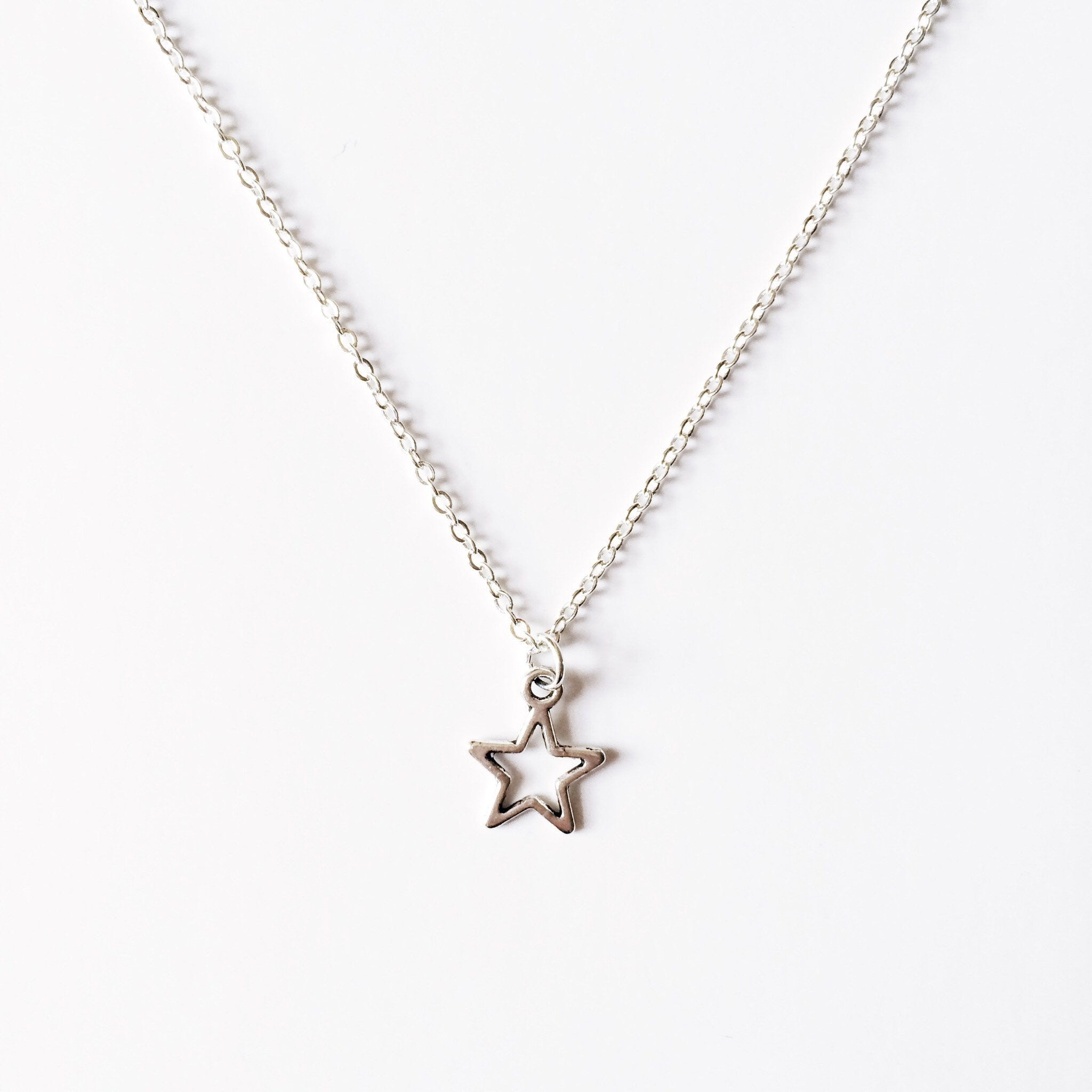 Open Star Chain Choker