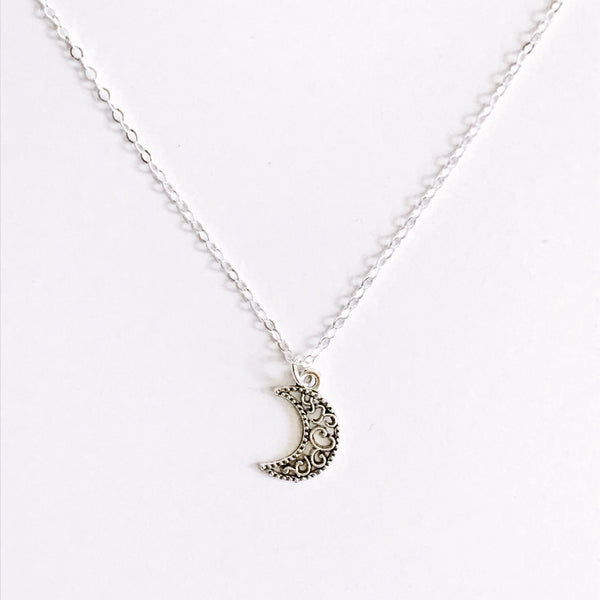 Paisley Moon Necklace