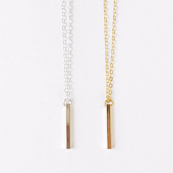 Dangling Bar Necklace