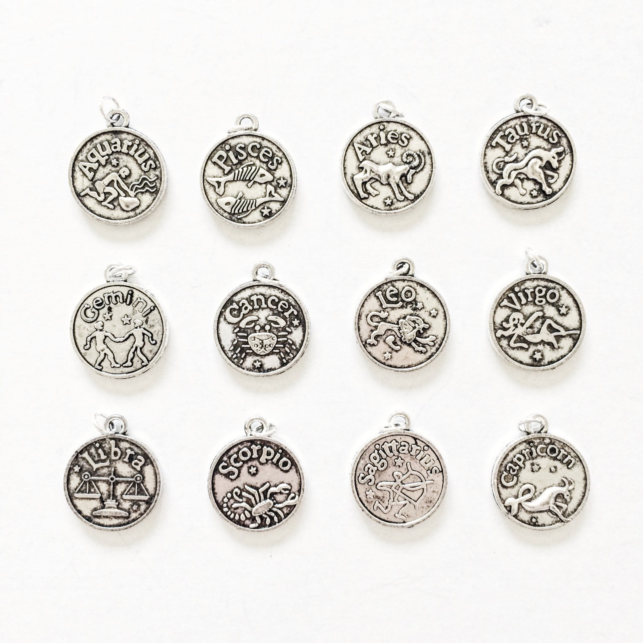Zodiac Sign Coin Choker