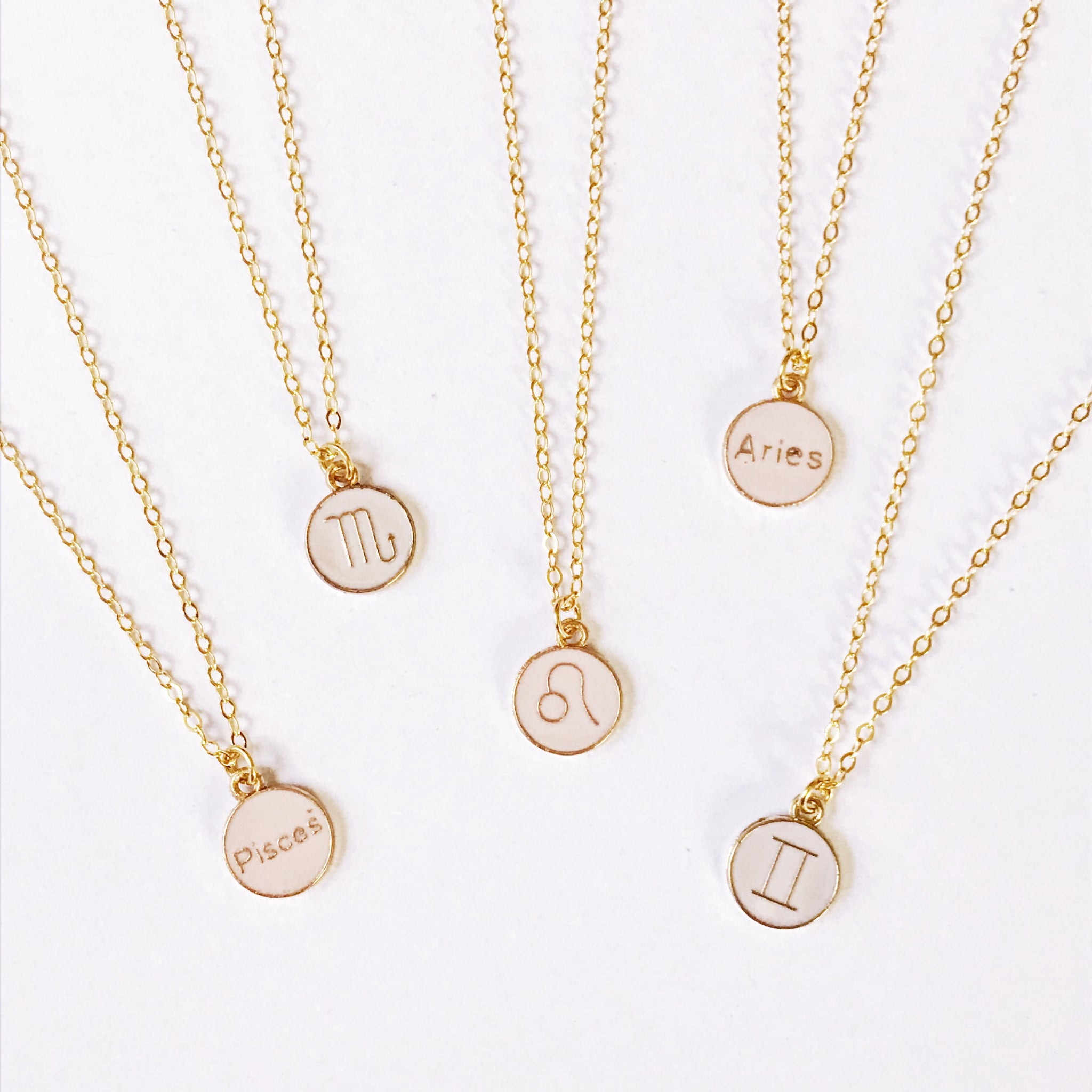 Lux Zodiac Sign Necklace