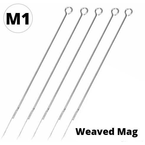 Tattoo Needles - Weaved Magnums - SINGLE NEEDLE TATTOO
