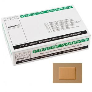 Sterostrip Washproof 7.5cm x 5cm Plasters-SINGLE NEEDLE-1-SINGLE NEEDLE Stick & Poke Tattoo