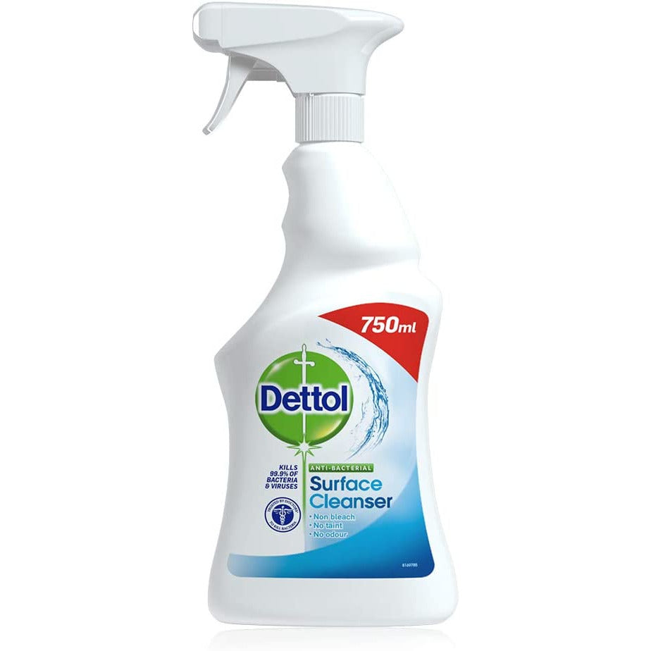 Dettol Antibacterial Cleaning Spray 750 ml