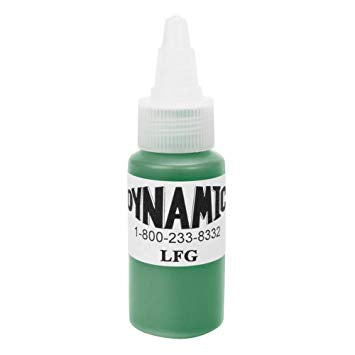 Dynamic Leaf Green Tattoo Ink - 28ml (1oz)-SINGLE NEEDLE-SINGLE NEEDLE Stick & Poke Tattoo