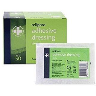 Relipore Self-Adhering Dressing 7.5cm x 7.5cm - SINGLE NEEDLE TATTOO