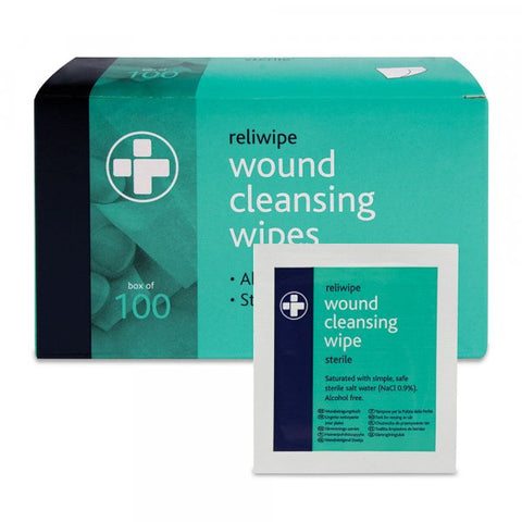 Reliwipe Wound Cleaning Wipes-SINGLE NEEDLE-1-SINGLE NEEDLE Stick & Poke Tattoo