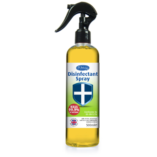 Dr Johnson Antiviral Disinfectant Spray 500ml