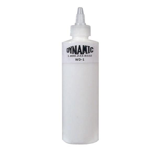 Dynamic White Lining & Shading Tattoo Ink - 227ml (8oz) - SINGLE NEEDLE TATTOO