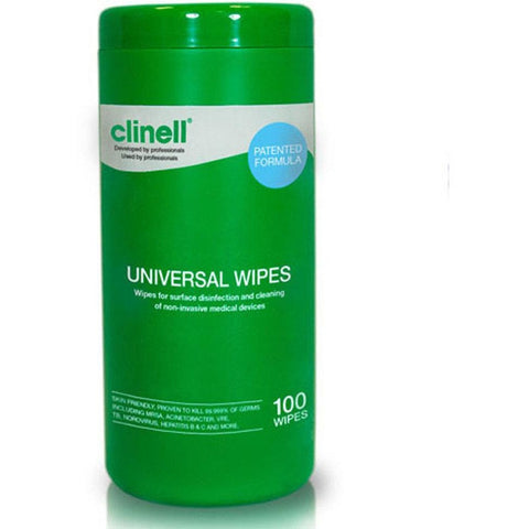 Clinell Universal Sanitising Wipes x 100 - SINGLE NEEDLE TATTOO