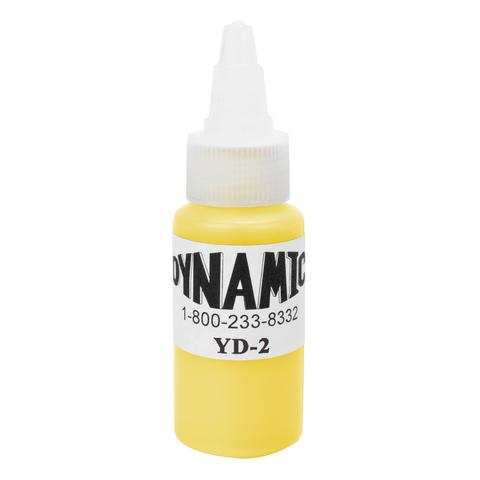 Dynamic Canary Yellow Tattoo Ink - 28ml (1oz) - SINGLE NEEDLE TATTOO