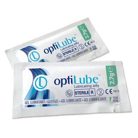 Optilube Sterile Lubricating Jelly - 5g Sachet - SINGLE NEEDLE TATTOO