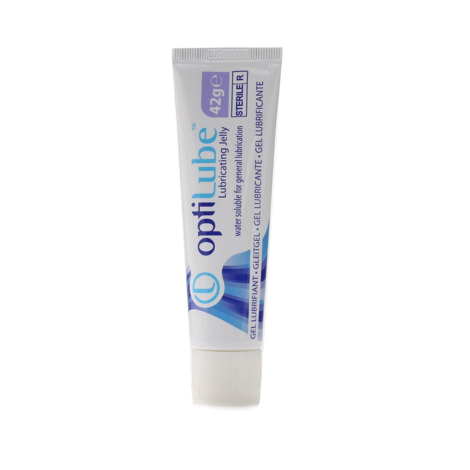 Optilube Sterile Lubricating Jelly - 42g Tube-SINGLE NEEDLE-SINGLE NEEDLE Stick & Poke Tattoo
