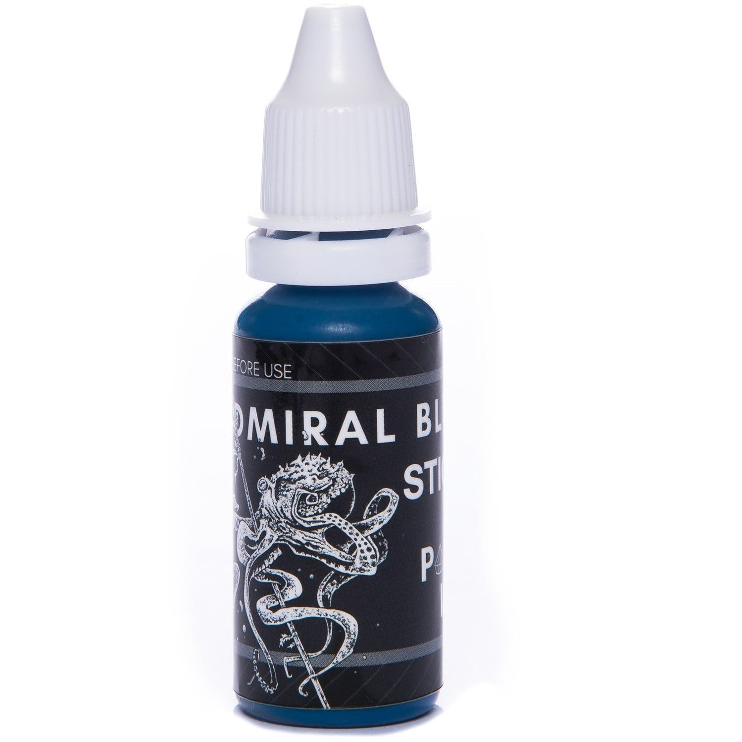 Admiral Blue - Stick & Poke Tattoo Ink-Single Needle-30ml-SINGLE NEEDLE Stick & Poke Tattoo