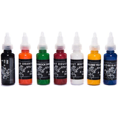 Stick & Poke Full Tattoo Ink Set - 15ml/ 30ml - SINGLE NEEDLE TATTOO