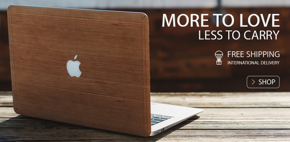 Apple MacBook Air Wooden Skin Sticker