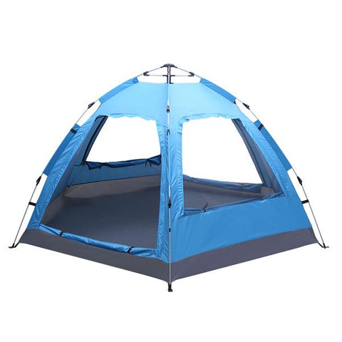 3-4 Person Automatic Tent Instant Pop Up Waterproof for Camping Hiking Travel