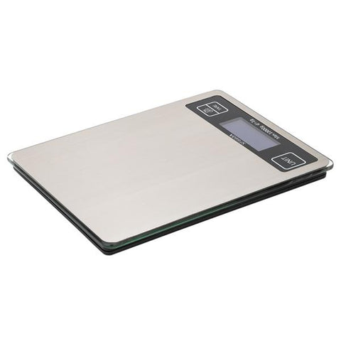 Digital Scale 10kg/1g Touch Screen Multi-Unit Switch Stainless Steel Countertop