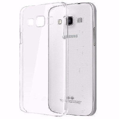 TRANSPARENT RUBBERISED BACK COVER FOR SAMSUNG GALAXY J1