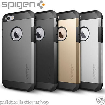 SPIGEN Tough Armor Hard Back Cover Case for iPhone 5 /5S & iPhone 6 /6S (APPLE)