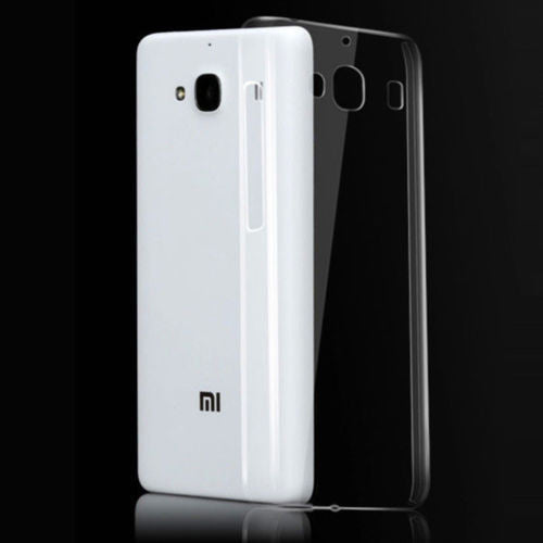 TRANSPARENT RUBBERISED BACK COVER FOR REDMI 2 PRIME (XIAOMI)