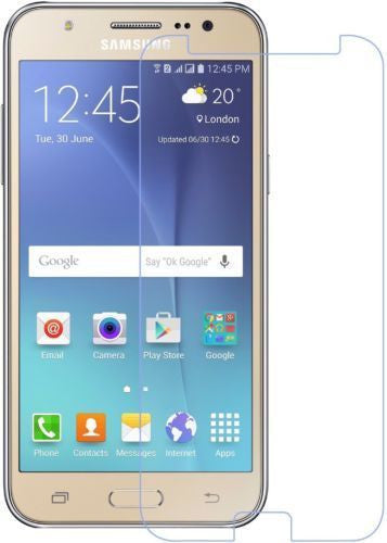 Screen Scratch Guard with FREE Cleaing Wipe for Samsung Galaxy J7 j700