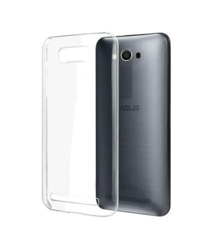 TRANSPARENT RUBBERISED BACK COVER FOR ASUS ZENFONE MAX