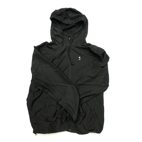 Black PV Hooded Windbreaker