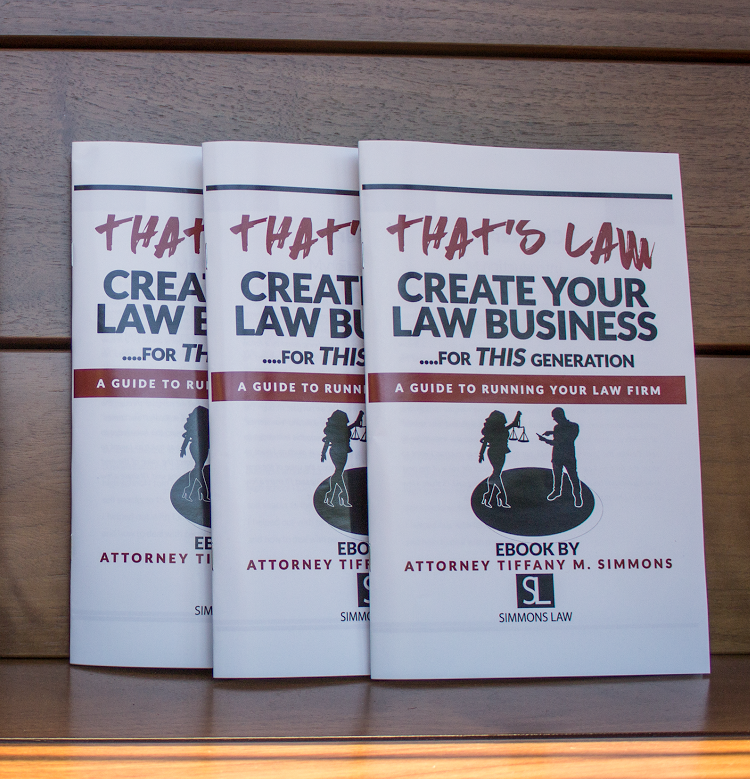Create Your Law Business For This Generation- HARD COPY POCKET GUIDE