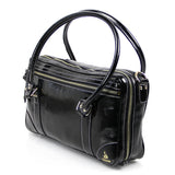Black Patent Leather Clarinet Bag