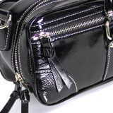 Black Patent Leather Bag