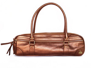 Rose Gold Leather bag