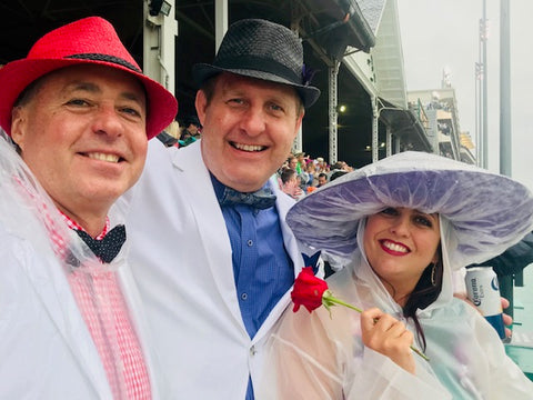 Rainy Day at Kentucky Derby