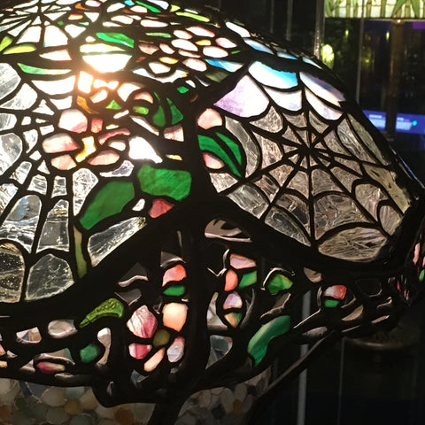 Tiffany Lamp - Spiderweb