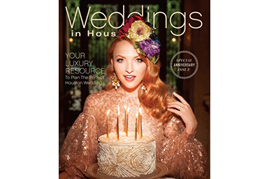 Milli Starr Cover Weddings in Houston Magazine February 2017